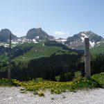 Riggisberg, Blick zur Wasserscheide