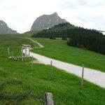 Riggisberg, Wasserscheide das Fluggebiet