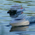 Modellschiffe, Najade und Condor