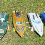 Speedy, zehn fertige Holzmodelle