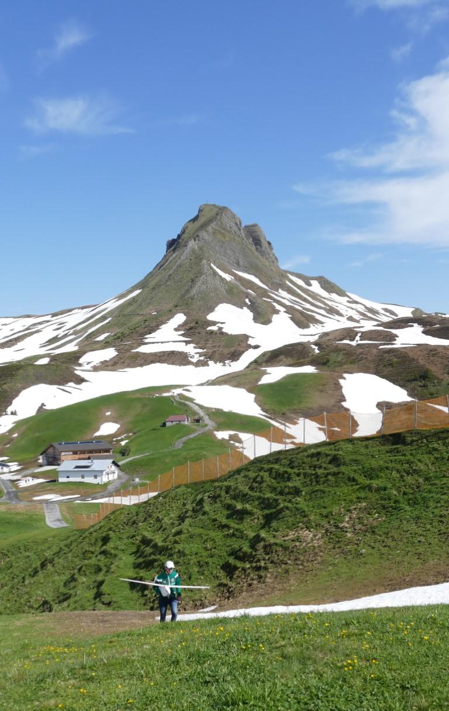 Flugurlauf in Damüls im Vorarlberg