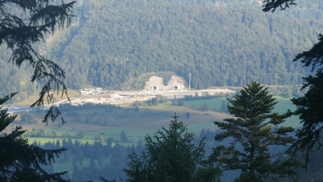 Tunnel Oberau