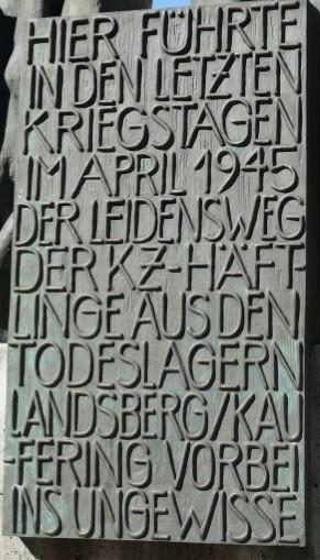 Tafel Fürstenfeldbruck