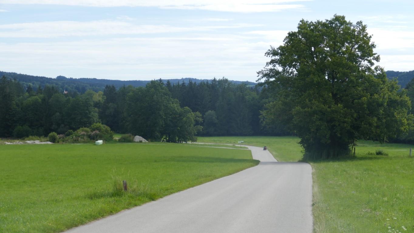 Auf dem Weg zur Jugendsiedlung Hochland
