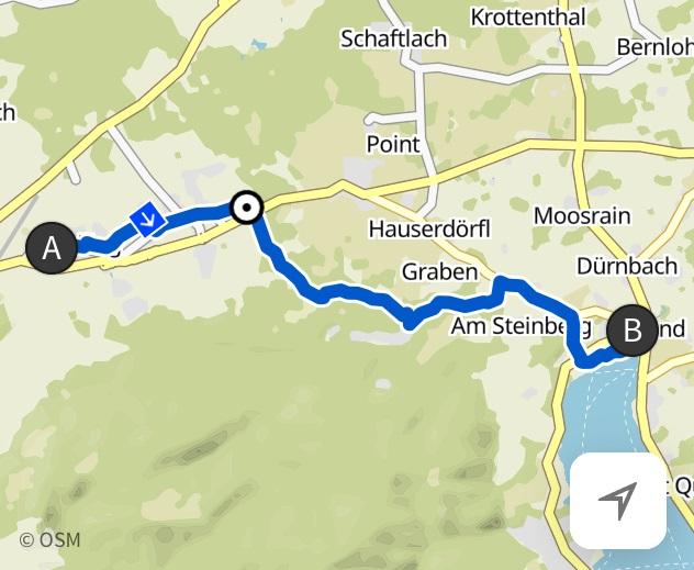 Bad Tölz nach Gmund