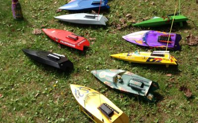 Speedy - zehn Speedys sind hier schon bereit für die Regatta